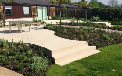 One of our gardens entered into the National Landscaping Awards